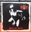 Marduk - Fuck Me Jesus EP (Osmose Productions, 1995 - Limited Hand Numbered Edition = 578/700) (Imp/Compacto Vinil)