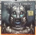 Rotting Christ - Aealo (Season Of Mist, 2010 - Limited Edition/45 RPM) (Imp/Duplo Vinil Azul - Com Encarte & Capa Dupla-Die Cut)