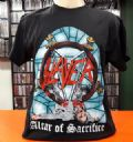 Slayer - Altar Of Sacrifice (Reign In Blood Tour 86-87/Camiseta Manga Curta - Tamanho G/Importada)