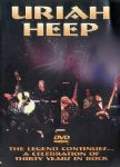 Uriah Heep - The Legend Continues (A Celebration Of Thirty Years In Rock) (Nac DVD)
